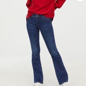 NEW H&M mini flare sz 12
